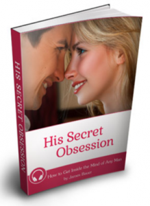 His Secret Obsession book cover by James Bauer